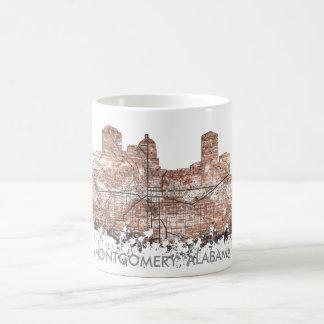 MONTGOMERY, ALABAMA SKYLINE - Drinking Mug