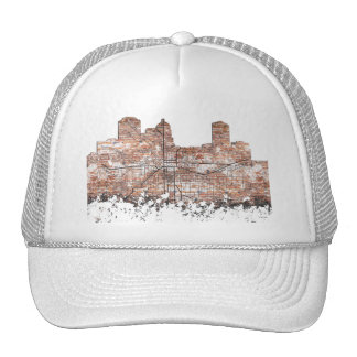 MONTGOMERY, ALABAMA SKYLINE - Truckers Hat