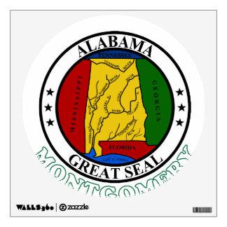 Montgomery Alabama Wall Sticker