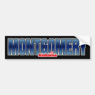 Montgomery Bumper Bumper Sticker