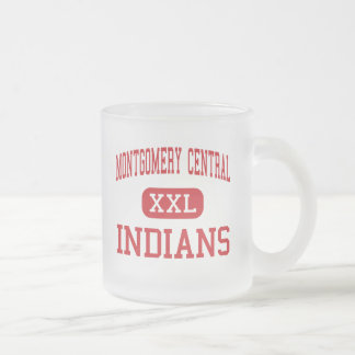Montgomery Central - Indians - High - Cunningham Frosted Glass Coffee Mug