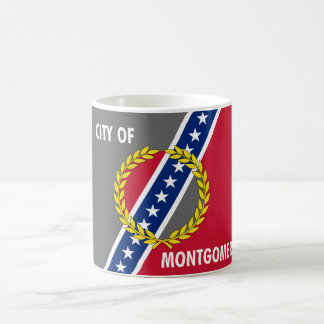 Montgomery city Alabama flag united states america Coffee Mug