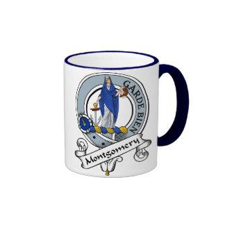 Montgomery Clan Badge Ringer Coffee Mug