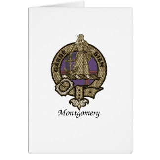 Montgomery Clan Crest Greeting Card
