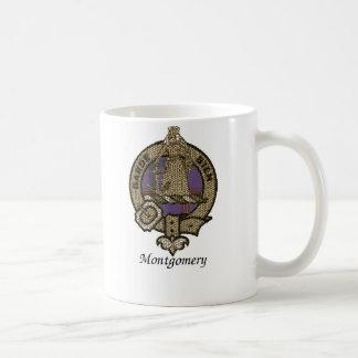 Montgomery Clan Crest Classic White Coffee Mug