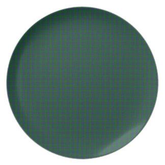 Montgomery Clan Tartan Melamine Plate