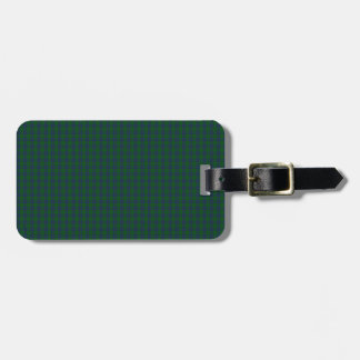 Montgomery Clan Tartan Travel Bag Tag