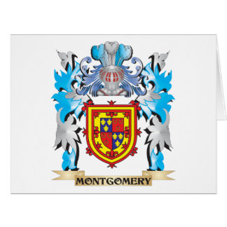 Montgomery Coat of Arms - Family Crest Greeting Card