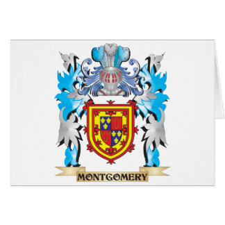 Montgomery Coat of Arms - Family Crest Cards
