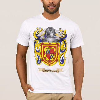 Montgomery Coat of Arms (Family Crest) T-Shirt
