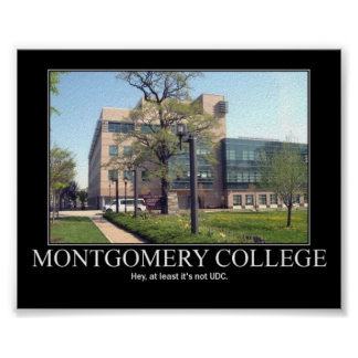 Montgomery Colledge Poster