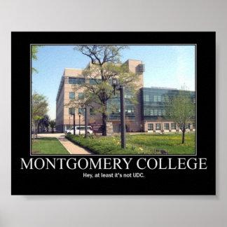 Montgomery Colledge Print