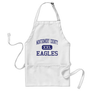 Montgomery County - Eagles - High - Mount Vernon Aprons