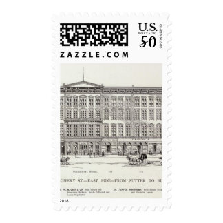 Montgomery East side Sutter and Bush Postage