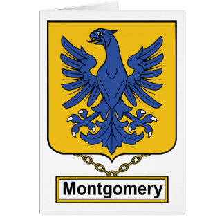 Montgomery Family Crest Cards