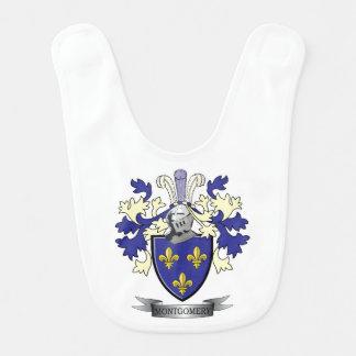 Montgomery Family Crest Coat of Arms Bib