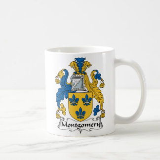 Montgomery Family Crest Classic White Coffee Mug