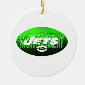 MONTGOMERY JETS CERAMIC ORNAMENT
