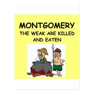 MONTGOMERY POST CARD