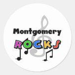 Montgomery Rocks Round Sticker