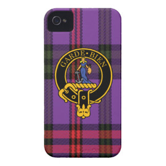 Montgomery Scottish Crest and Tartan iPhone 4 case