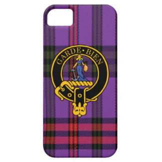 Montgomery Scottish Crest and Tartan iPhone 5/5S iPhone 5 Case