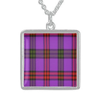 Montgomery Scottish Tartan Sterling Silver Necklace