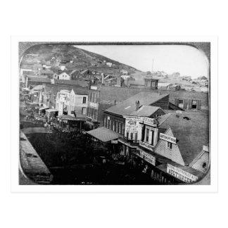 Montgomery Street San Francisco California 1850 Postcard