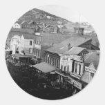 Montgomery Street San Francisco California 1850 Sticker