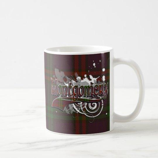 Montgomery Tartan Grunge Coffee Mug