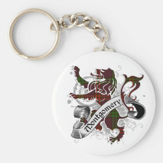 Montgomery Tartan Lion Keychain