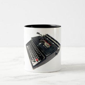 Montgomery Ward Escort 77 Two-Tone Coffee Mug
