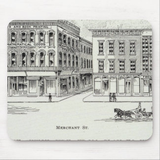 Montgomery West side Clay and Washington Mouse Pad