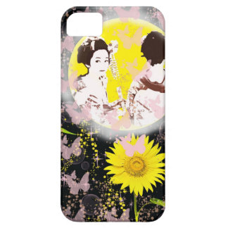 Month and Muko mallow and dance 妓 iPhone 5 Cover