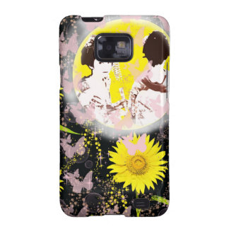 Month and Muko mallow and dance 妓 Galaxy SII Case
