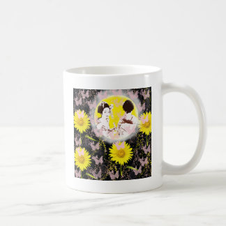 Month and Muko mallow and dance 妓 Coffee Mug