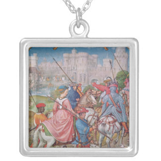 Month of August Silver Plated Necklace