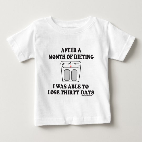 MONTH OF DIETING T-SHIRTS AND GIFTS