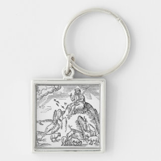 Month of July from The Shepheardes Calender Keychain