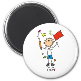 Month of July 2 Inch Round Magnet