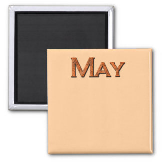Month of May Teaching or Memory Aid Magnet