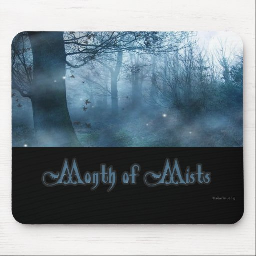 Month of Mists - October - Orenda Mouse Mats