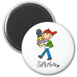 Month of September 2 Inch Round Magnet