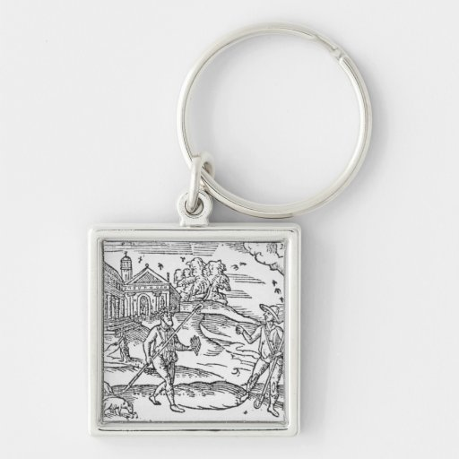 Month of September 'The Shepheardes Calender' Key Chains