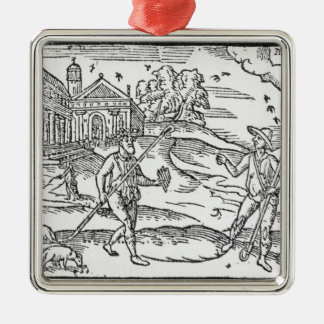 Month of September 'The Shepheardes Calender' Metal Ornament