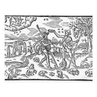 Month of September 'The Shepheardes Calender' Post Cards