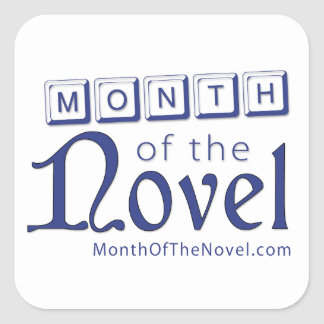Month of the Novel Season 1 Stickers