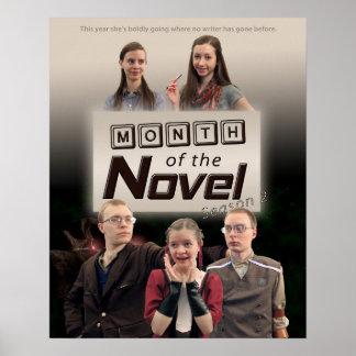 Month of the Novel Season 2 Poster
