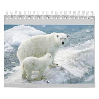 Monthly Calendar (polar bear)