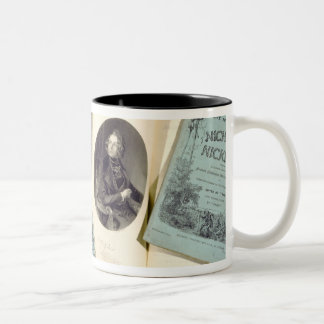 Monthly Issues of 'The Life and Adventures of Nich Two-Tone Coffee Mug